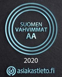asiakastieto.fi AA laatulogo